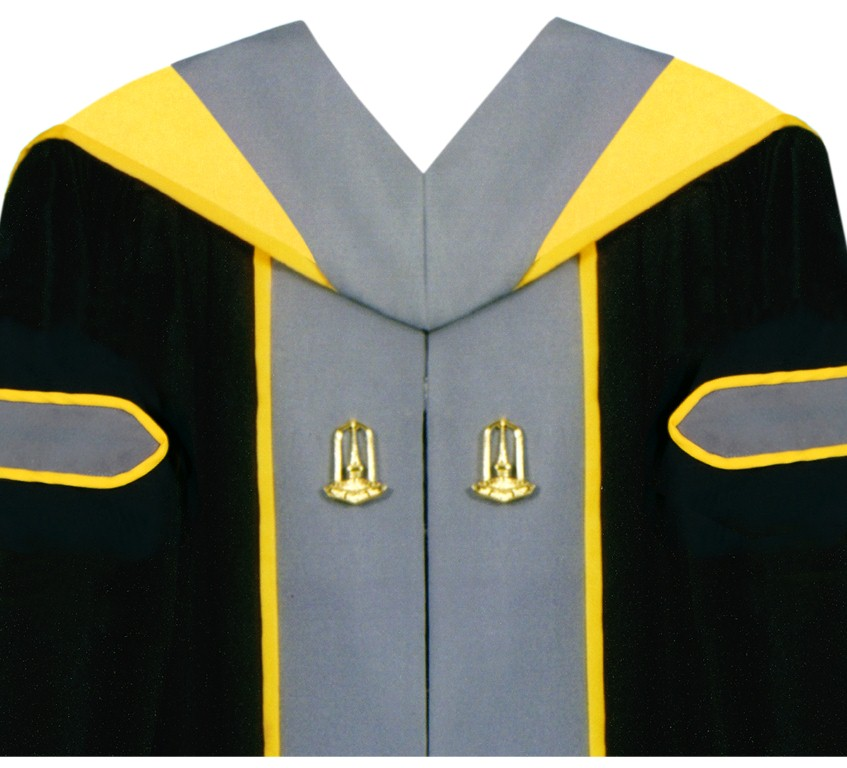 ชุดครุยมหาวิทยาลัยมหาสารคามหลักสูตรวิทยาศาสตรบัณฑิต (วท.บ.)