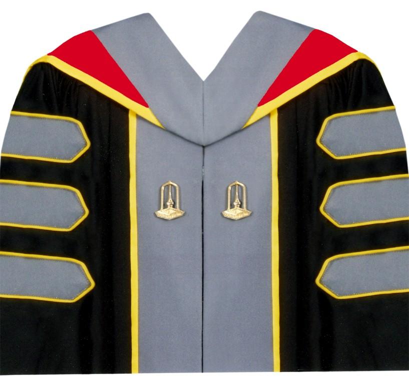 ชุดครุยหลักสูตรปรัชญาดุษฎีบัณฑิต  (ปร.ด.) คณะการบัญชีและการจัดการ สาขาวิชาการบัญชี